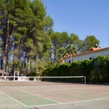 Tennis court at our b&b