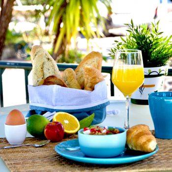 B&B breakfast in Costa Blanca